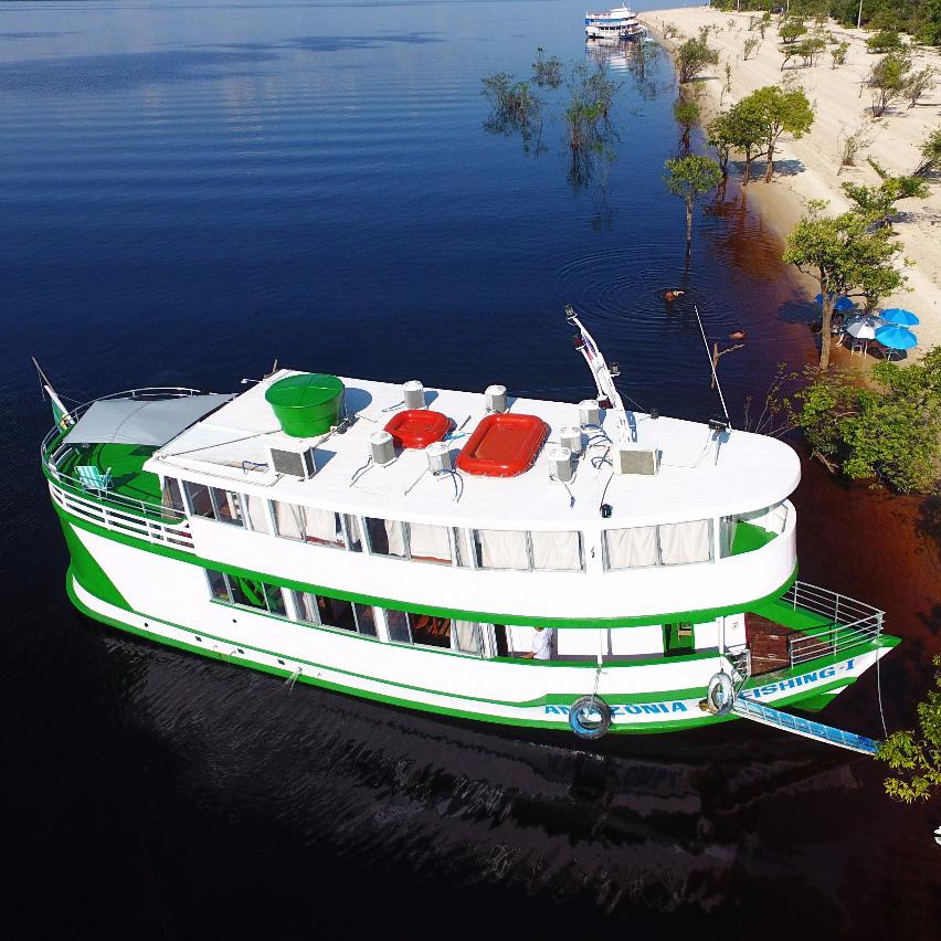 Live-aboard Riverboat – Amazônia Fishing Ecotour