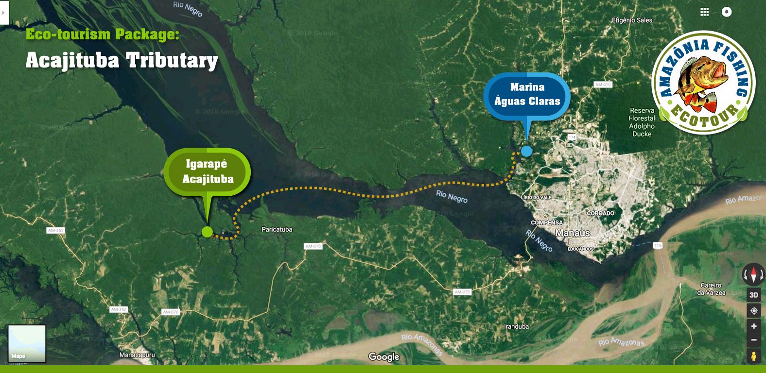 Eco-tourism Package - Acajituba Tributary