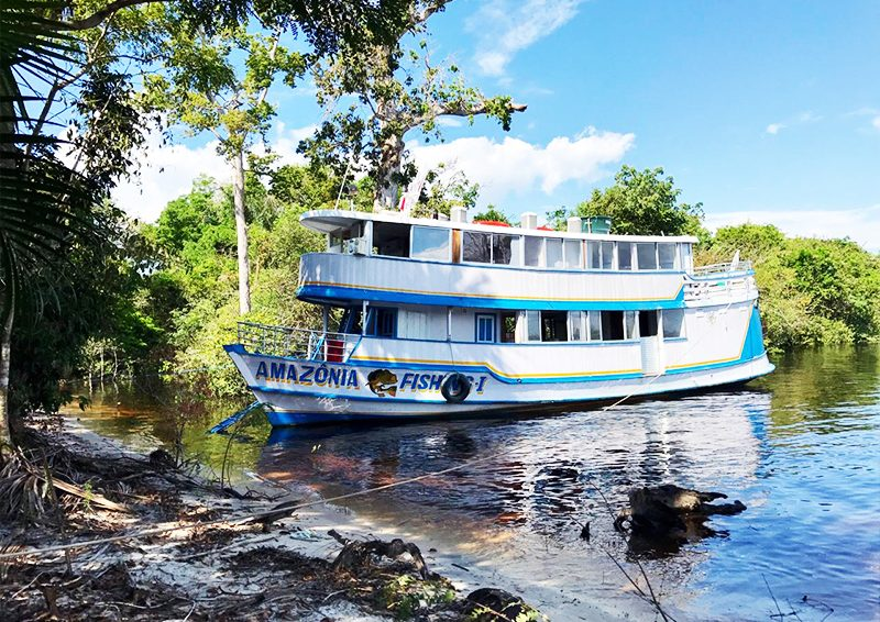 Amazônia Fishing Live-aboard Riverboat  – July 2018