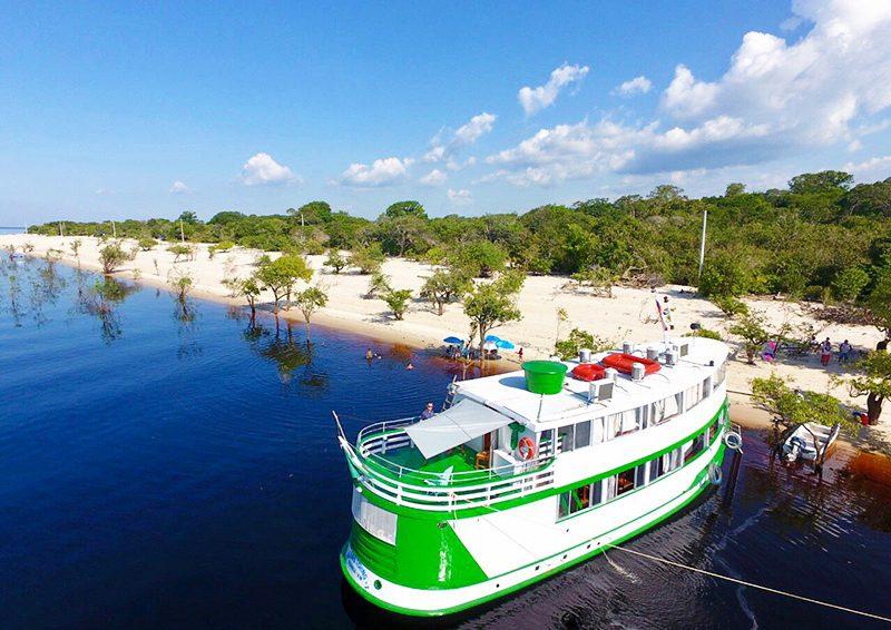 Amazônia Fishing Live-aboard Riverboat after refurbishing – September 2018